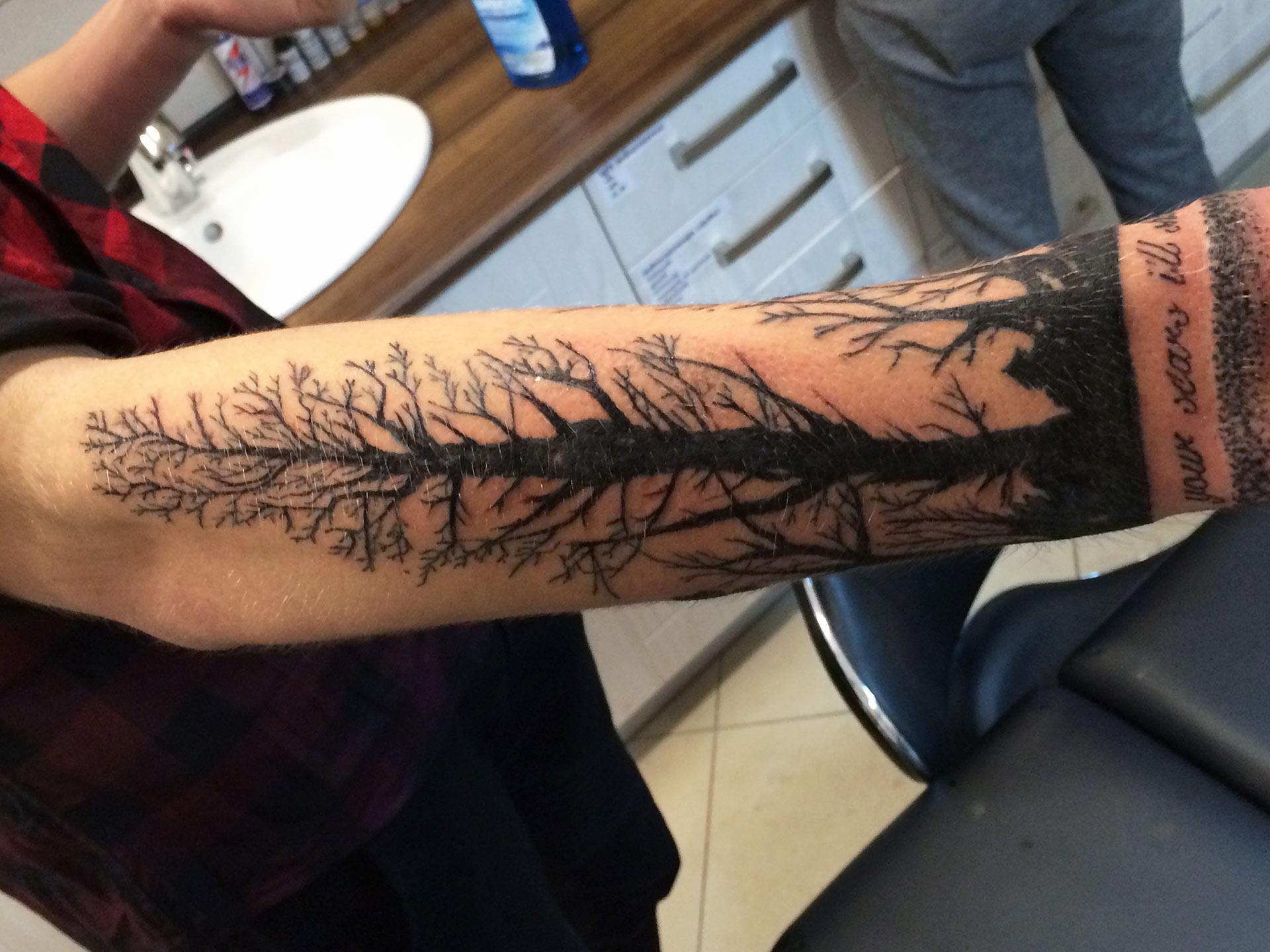 Las tatuaży