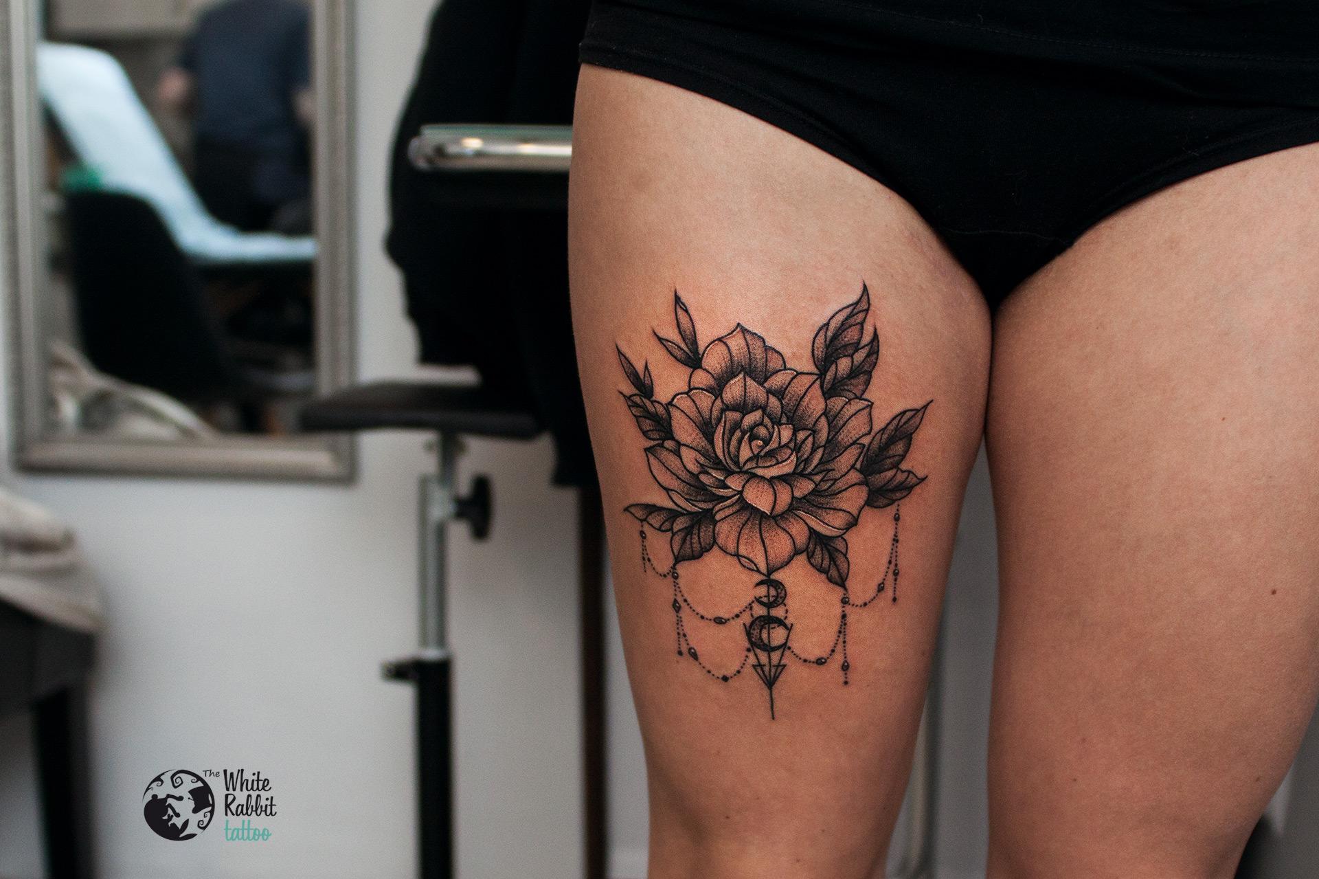 Kwiatowe tatuaże