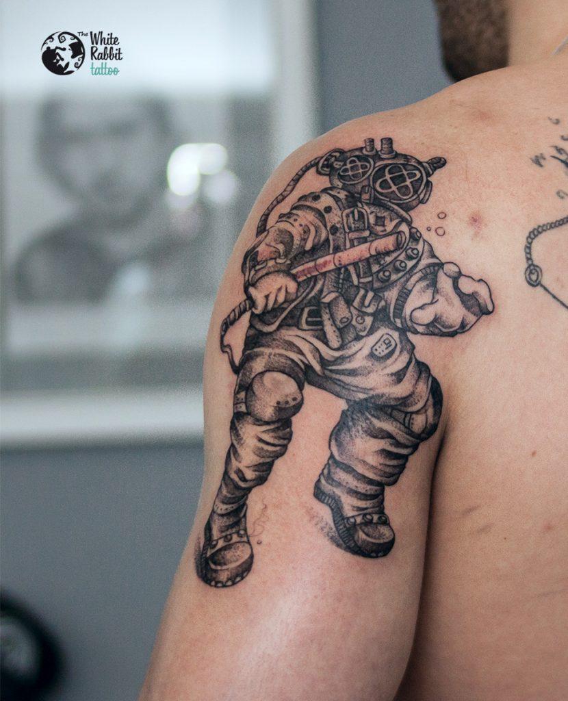 Tatuaż znurkiem