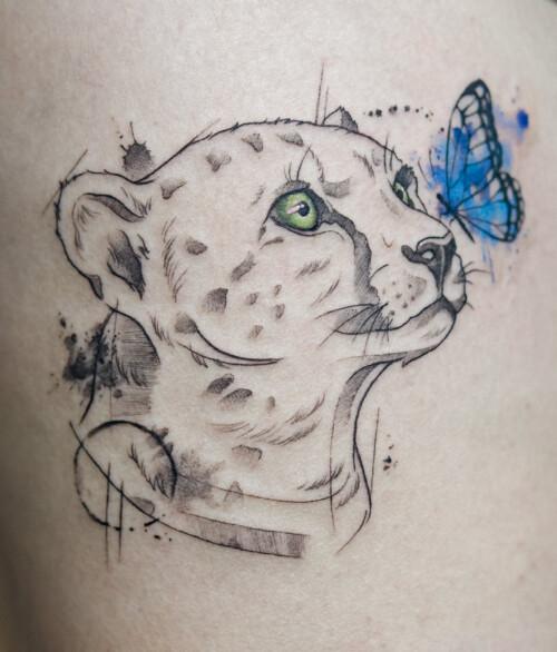 Tatuaż z pupilem