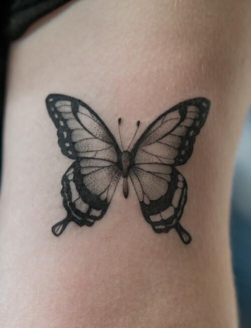 Motyle i kwiatowe kompozycje